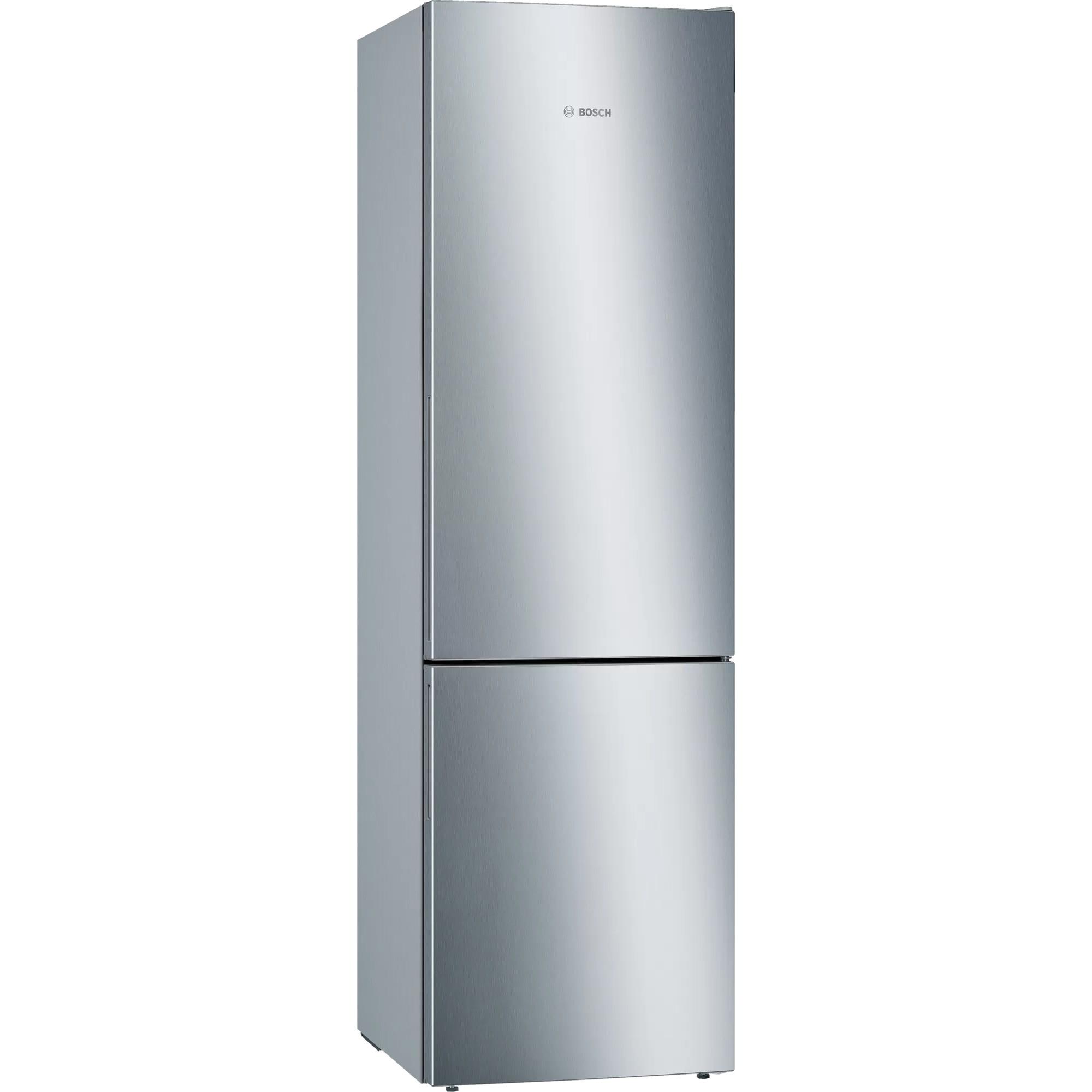 Fotografie Combina frigorifica Bosch KGE39ALCA, 343 l, Clasa C, Low Frost, VitaFresh, H 201 cm, Argintiu