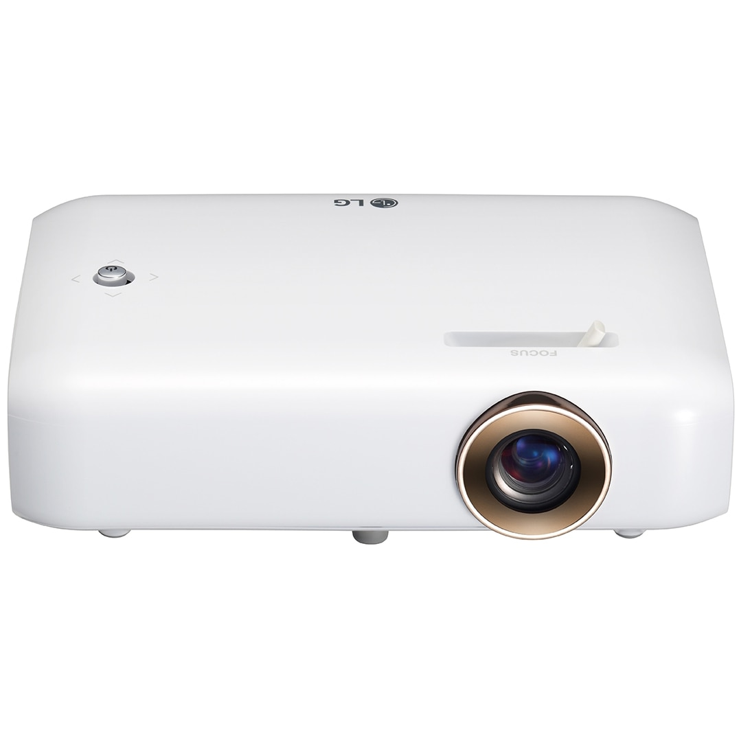 Fotografie Videoproiector LED LG PH550G, HD, 550 lumeni, Alb