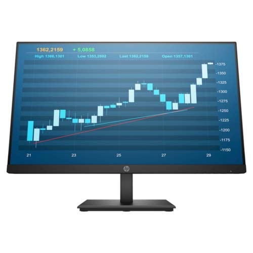 "Fotografie Monitor LED IPS HP ProDisplay 23.8"", Full HD, Display Port, HDMI, Negru, P244"