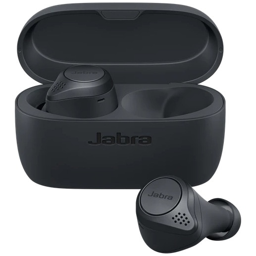 Fotografie Casti bluetooth Jabra Elite Active 75t, Dark Grey
