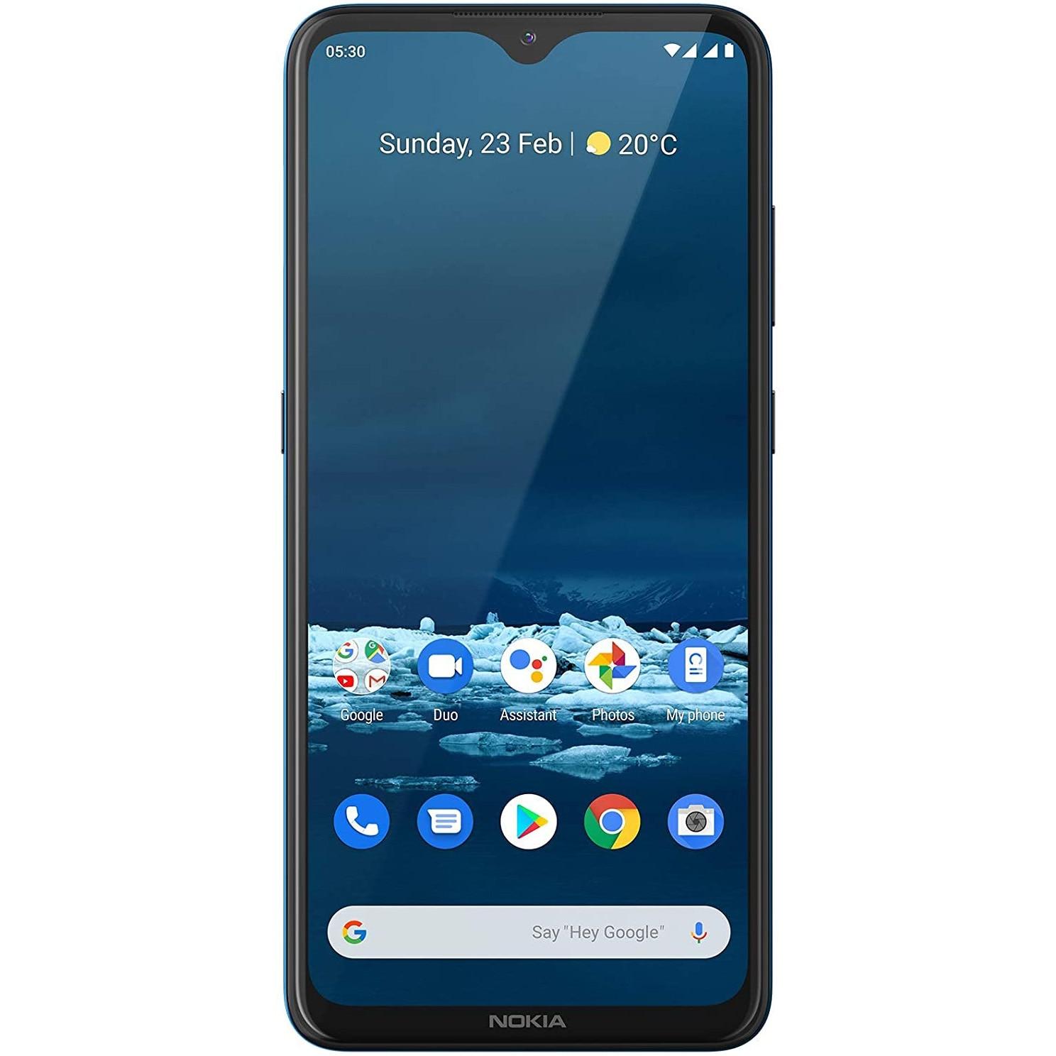 Fotografie Telefon mobil Nokia 5.3, Dual SIM, 64GB, 4G, Cyan