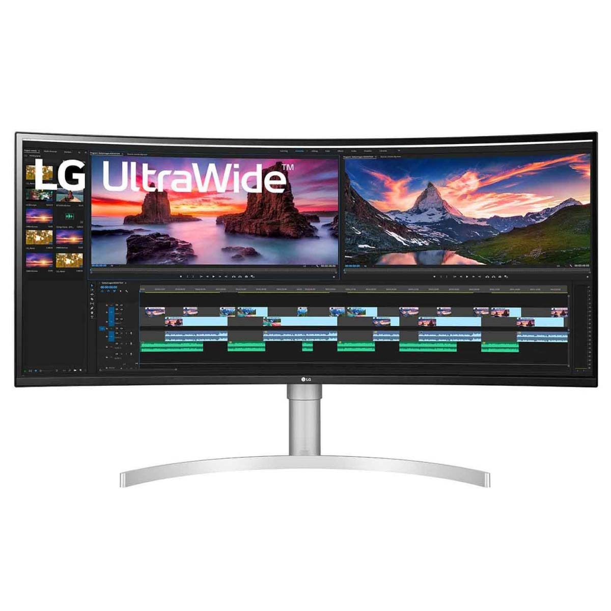 "Fotografie Monitor Gaming LED Nano IPS LG 38"", 1ms, WQHD, 144Hz,HDR 600, FreeSync, HDMI, DP, 38WN95C"