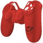 Аксесоар за контролер Trust GXT 744B Rubber Skin, Red за PlayStation 4