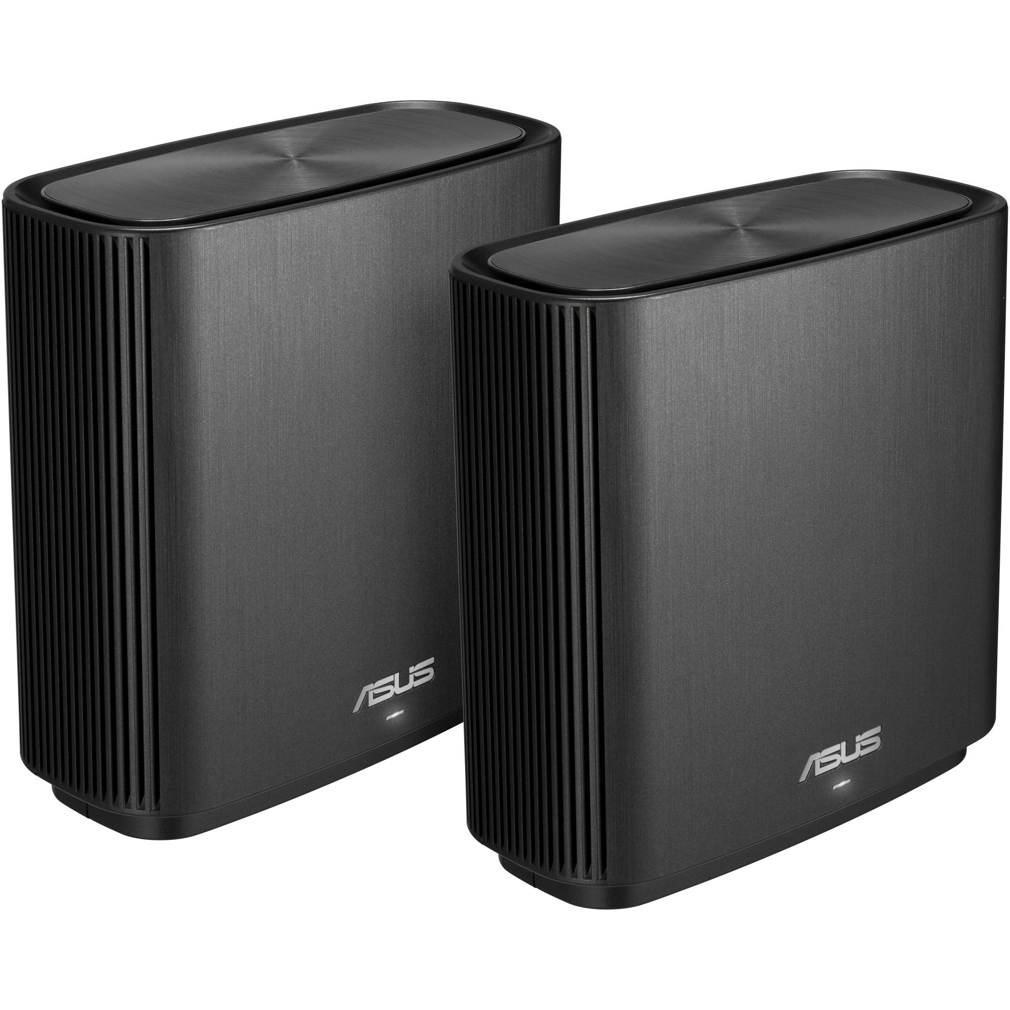Fotografie Sistem Wi-Fi Mesh ASUS ZenWifi CT8, MU-MIMO, AC3000, Black