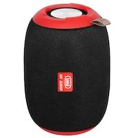 Boxa portabila Trevi XR 86 BT, 5 W, Bluetooth, FM, Aux, MP3, MicroSD, Negru/Rosu
