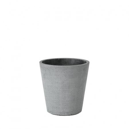 Coluna virágcserép sötét szürke