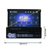 Мултимедия навигация парктроник радио Automat, 9601, с GPS, Bluetooth и Android, 1DIN, 7' inch, TFT LCD, 800 * 480 pix, черен