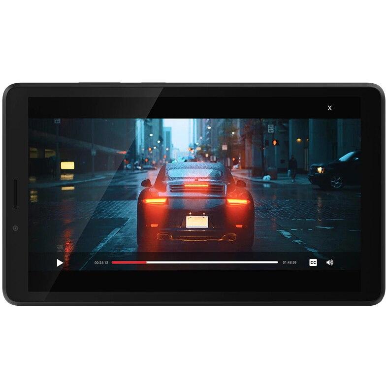 """Fotografie Tableta Lenovo Tab M7, Quad-Core, 7"""", 1GB RAM, 16GB, 4G, Onyx Black"""
