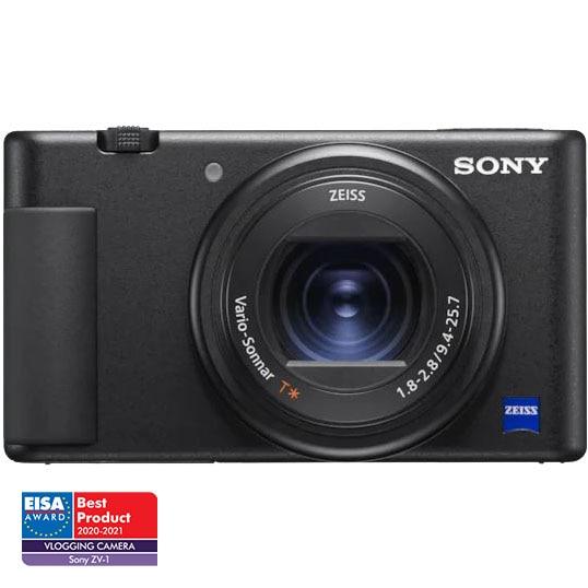 Fotografie Camera Vlogging Sony ZV-1, 4K, Negru