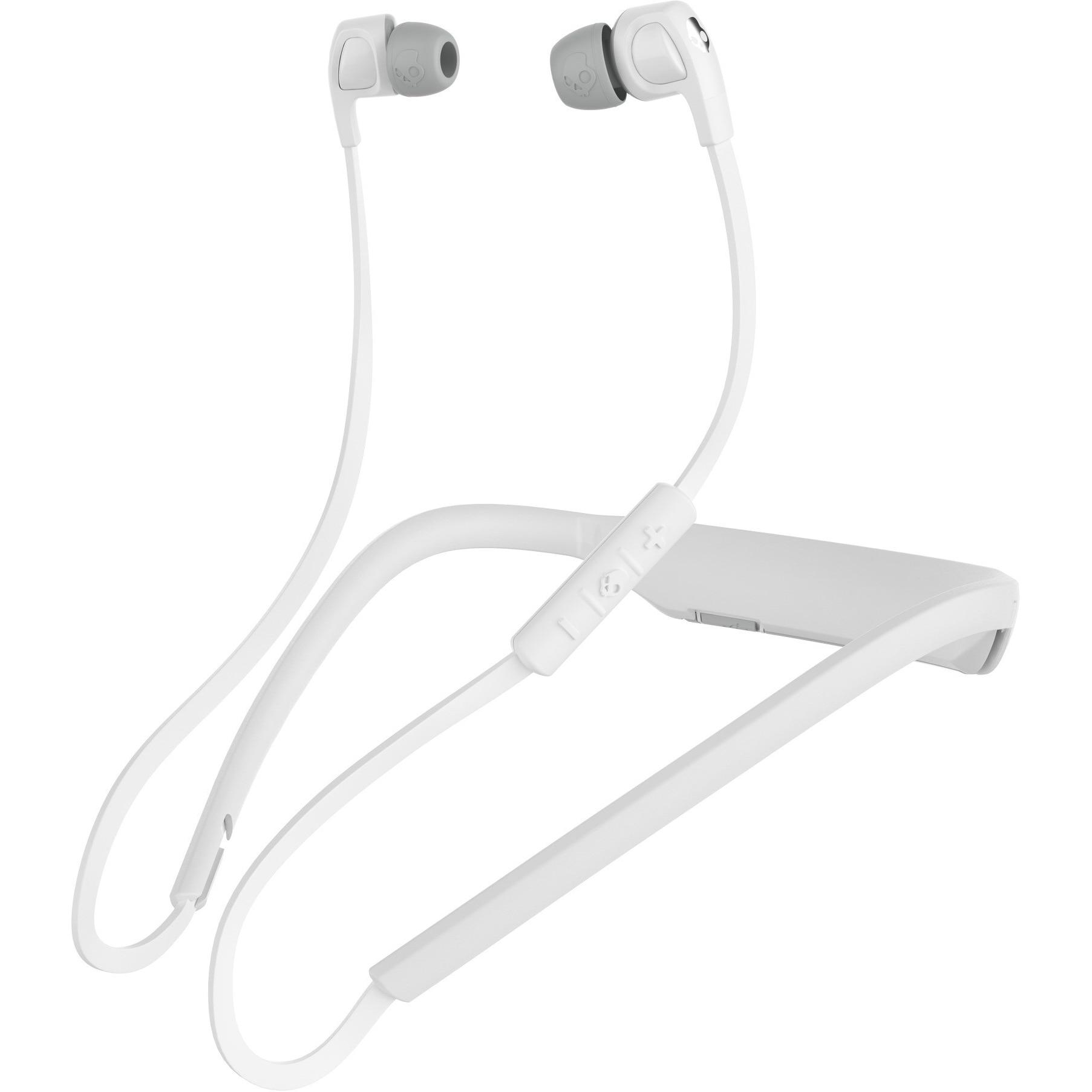 Fotografie Casti Audio In ear Skullcandy Buds 2 Wireless, Bluetooth, Functie Bass, Microfon, Autonomie 7 ore, White