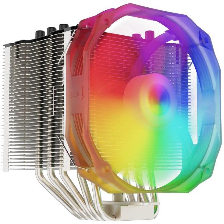 Fotografie Cooler procesor SilentiumPC Fortis 3 EVO ARGB, compatibil AMD/Intel