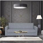 Разтегателен диван Modella Valeria 225x85x88 см, Сив