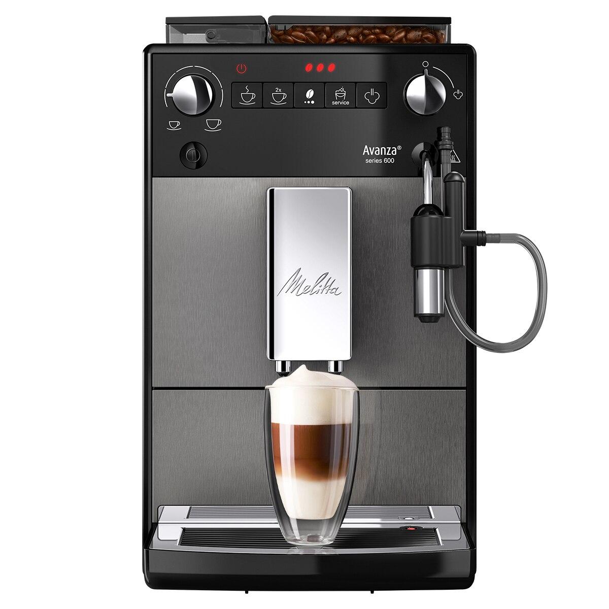 Fotografie Espressor Automat Melitta® Avanza, 15 bar , Sistem Cappuccinatore, 5 niveluri de granulație