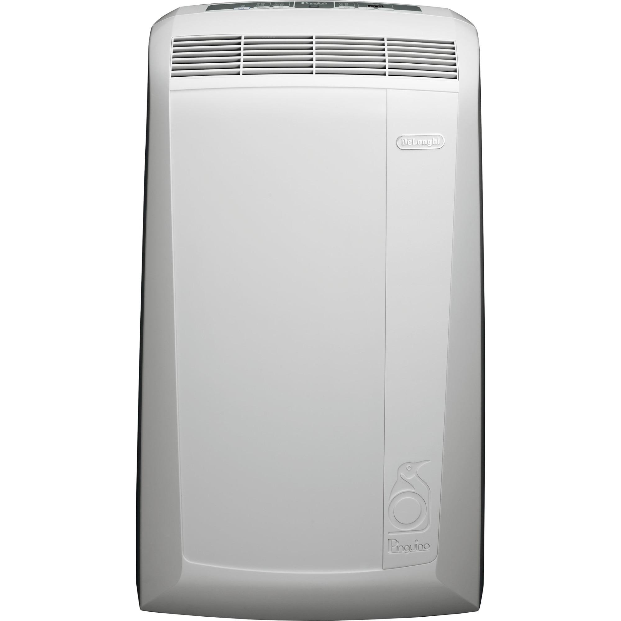 Fotografie Aparat de aer conditionat portabil De'Longhi 9400 BTU, Clasa A, dezumidificare, functie ventilare, timer, control digital, PAC N82 ECO, Alb