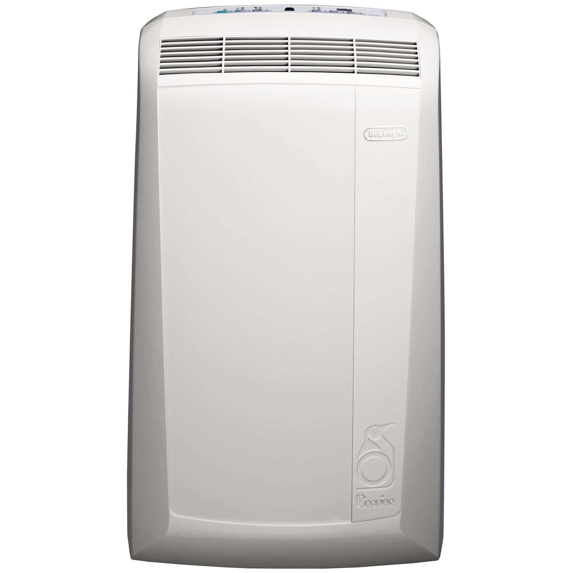 Fotografie Aparat de aer conditionat portabil De'Longhi 9800 BTU, Clasa A, dezumidificare, functie ventilare, timer, control digital, PAC N90 ECOSILENT, Alb
