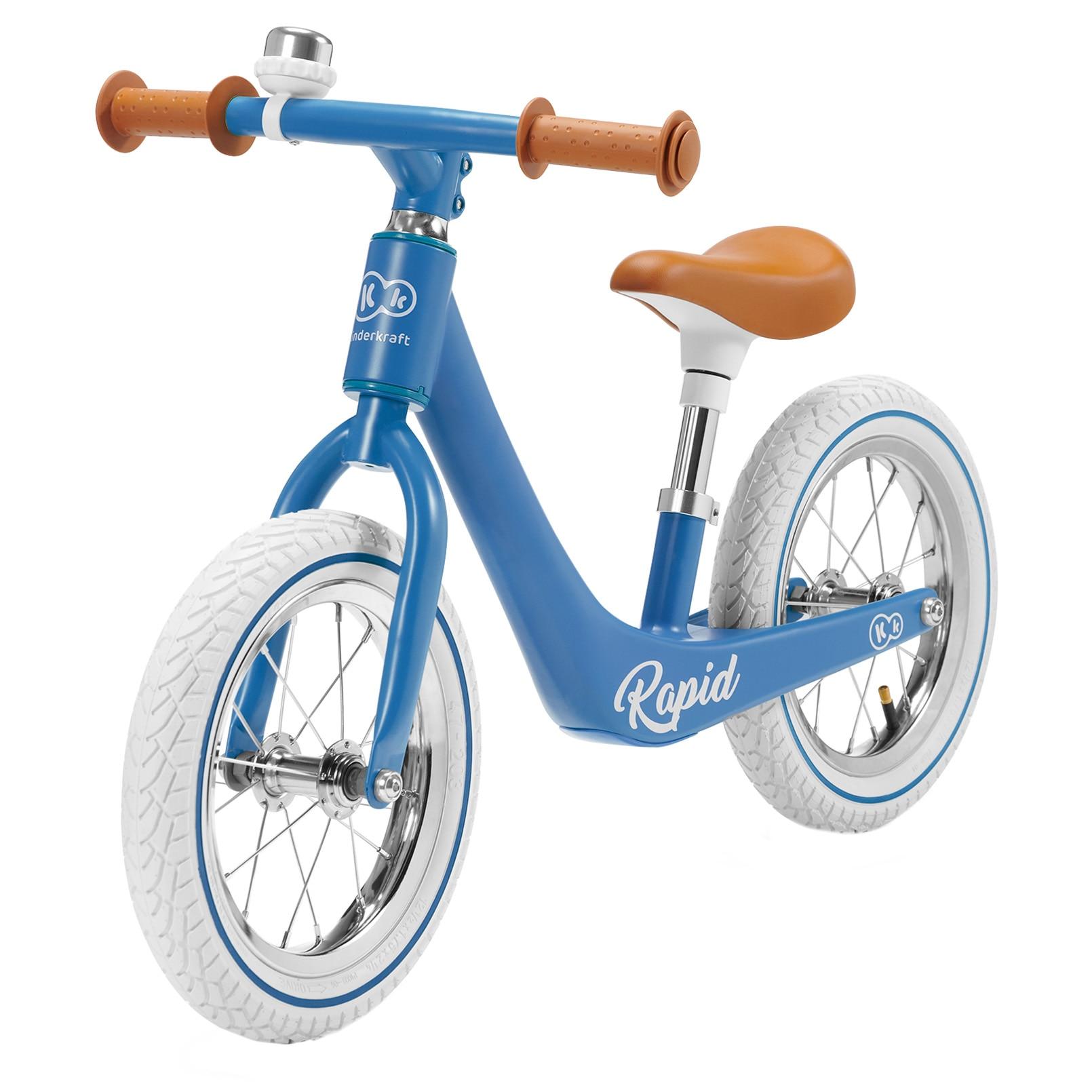 """Fotografie Bicicleta fara pedale Kinderkraft, 12"""", Rapid Blue Sapphire"""