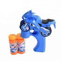 Motor alakú, automata buborékfújó pisztoly-kék
