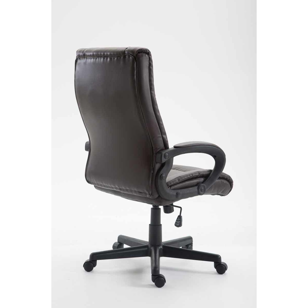 Sparta XL extra kényelmes főnöki szék (140 kg), műbőr, barna