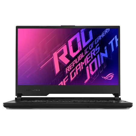 Лаптоп ASUS ROG Strix G15 G512LI-HN065 с Intel Core i7-10750H (2.6/5GHz, 12M), 32 GB, 512GB M.2 NVMe SSD, NVIDIA GTX 1650 Ti - 4 GB GDDR6, Free DOS, черен