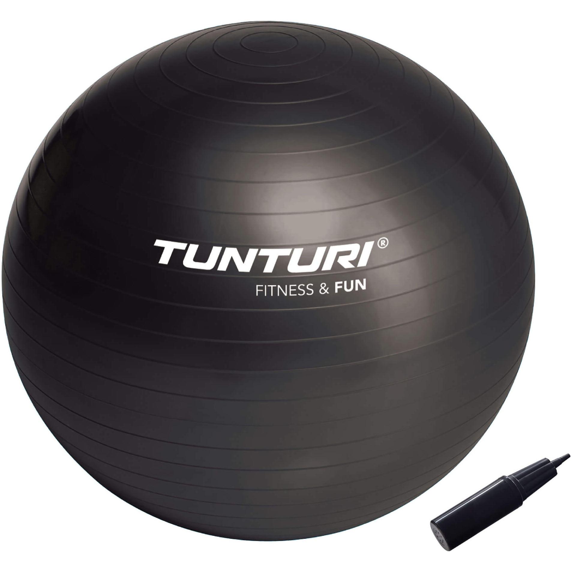 Fotografie Minge fitness Tunturi, 65cm, negru