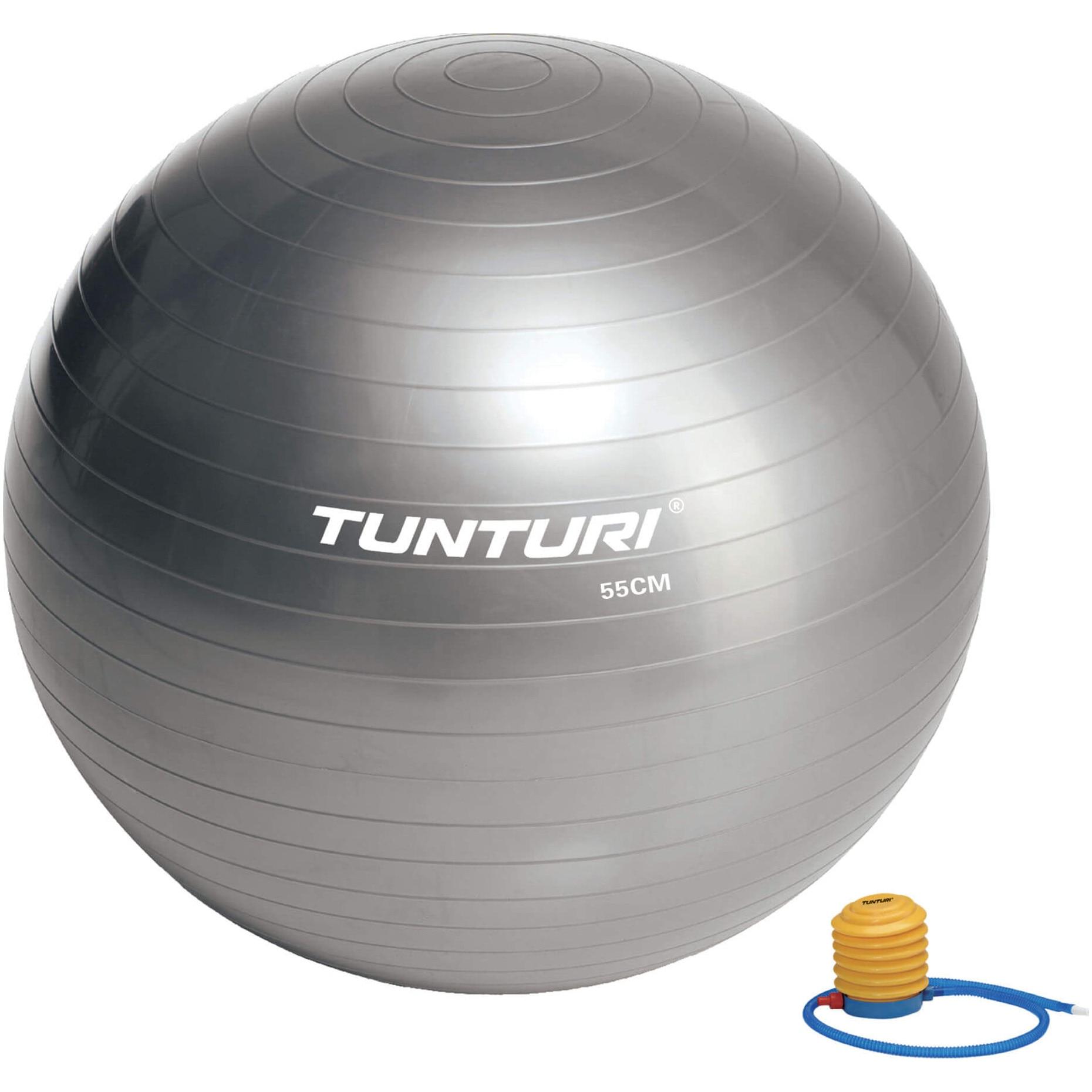 Fotografie Minge fitness Tunturi, 55cm, gri