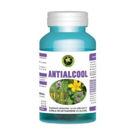 Antialcool Hypericum, 60 capsule - apois.ro