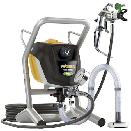 Уред за боядисване Wagner Control Pro 350 Extra Skid, Професионален, 600 W, 230 V, Максимално налягане 110 бара, Максимален дебит 1.5 л/мин