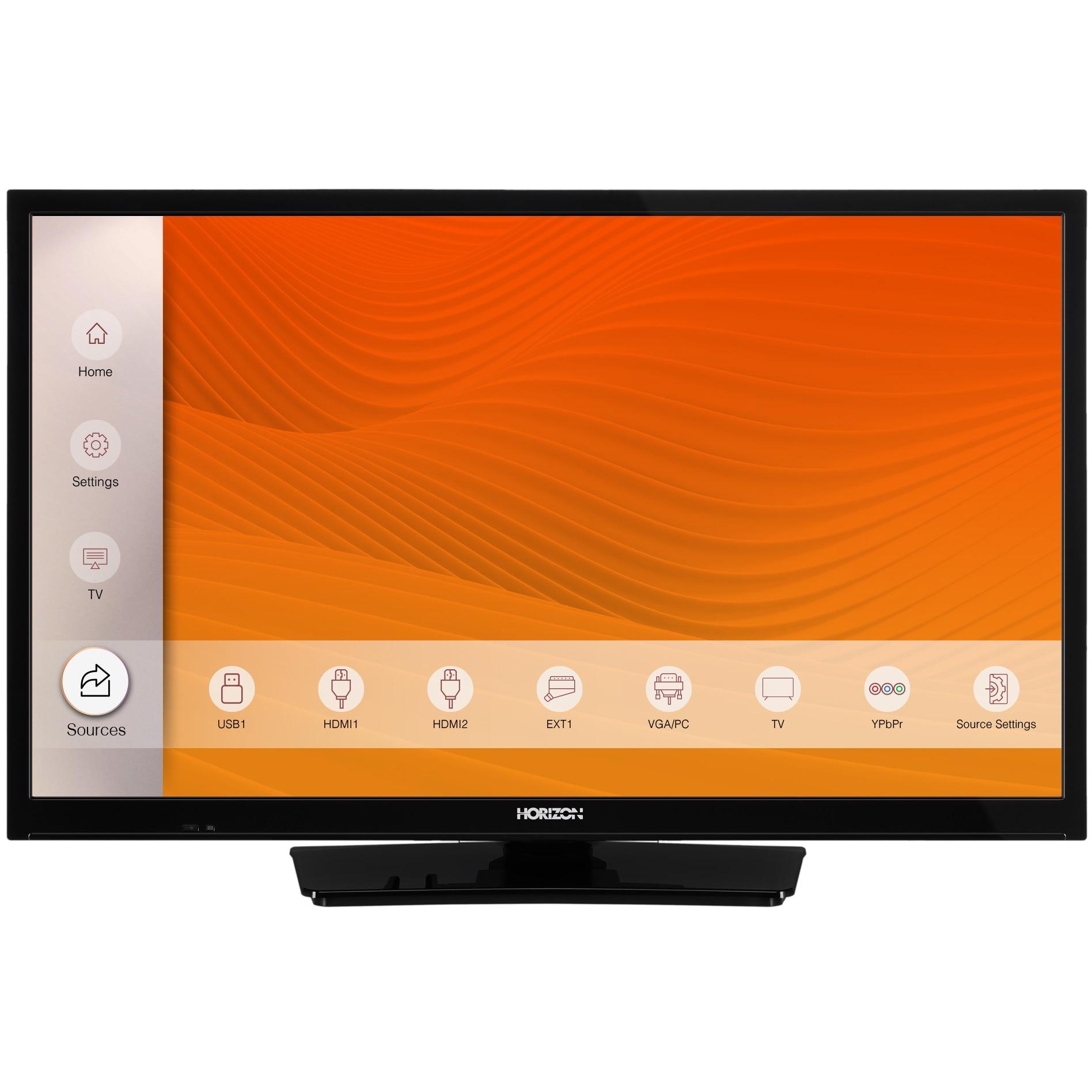 Fotografie Televizor Horizon 24HL6100H, 60 cm, HD, LED, Clasa A+
