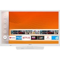 Horizon 24HL6131H Smart LED Televízió, 60 cm, HD, Fehér