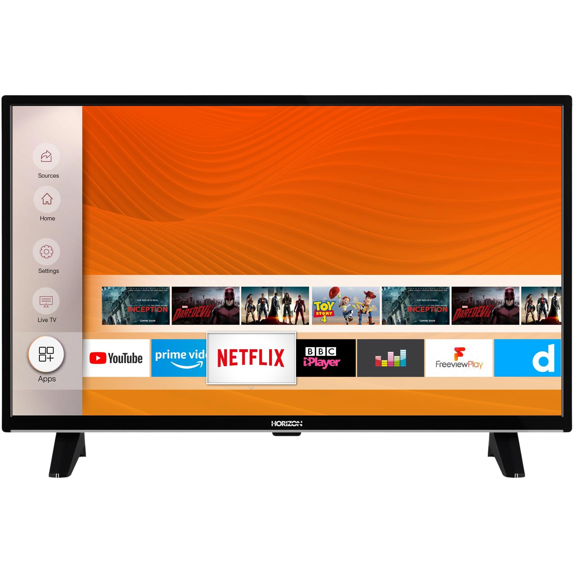 Fotografie Televizor Horizon 32HL6330F, 80 cm, Smart, Full HD, LED, Clasa A+
