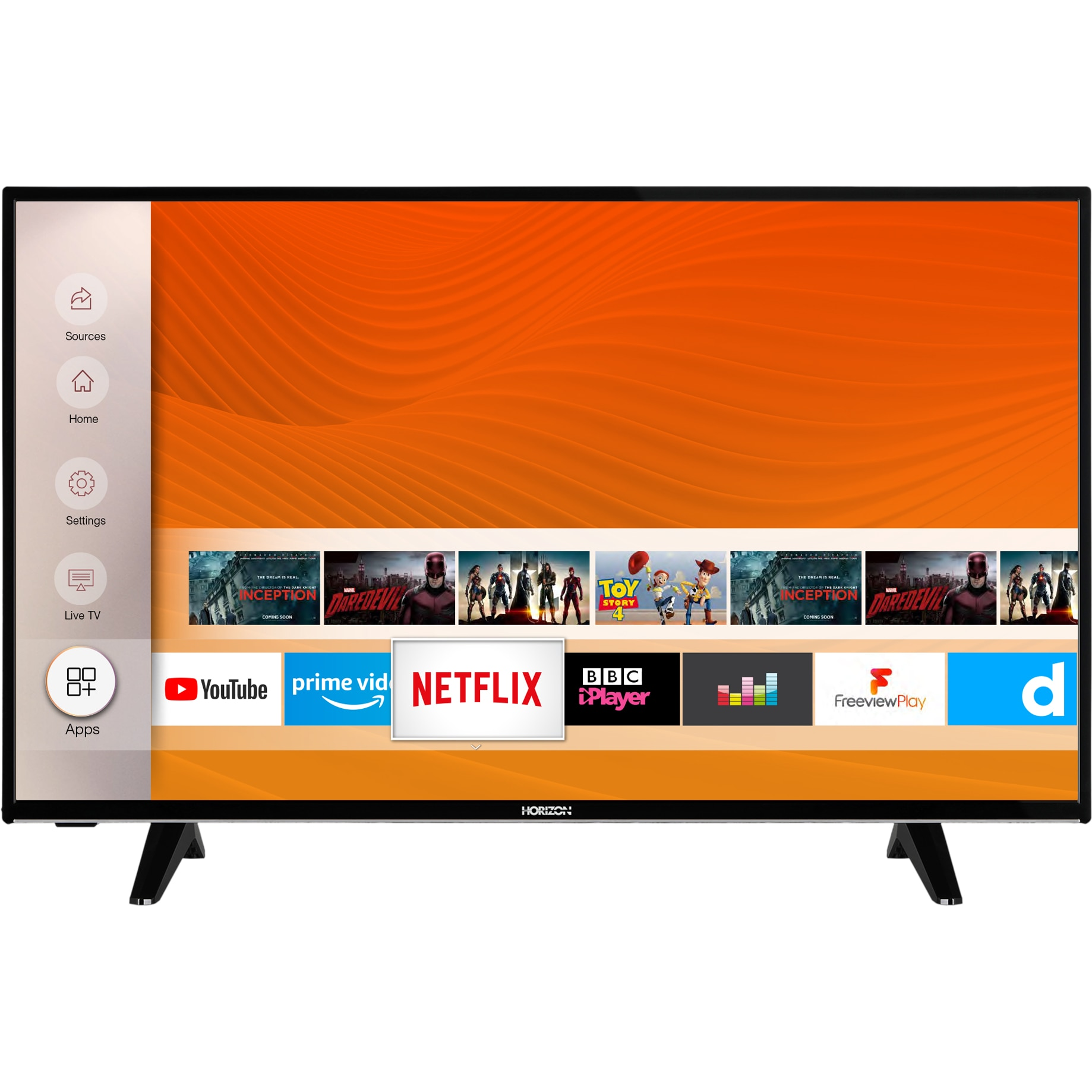 Fotografie Televizor Horizon 43HL6330F, 108 cm, Smart, Full HD, LED