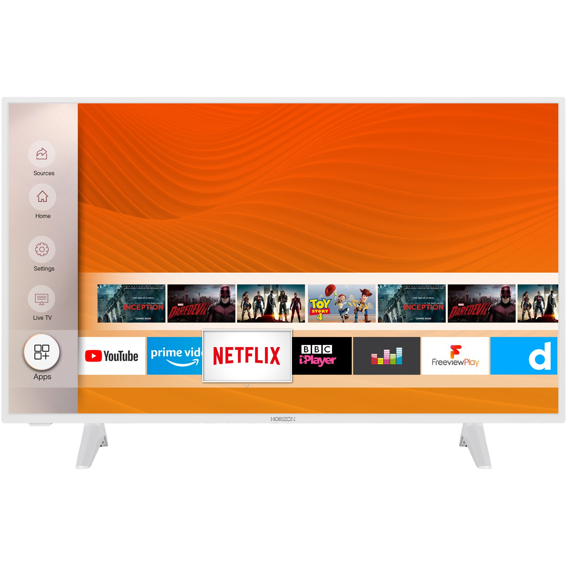 Fotografie Televizor Horizon 43HL6331F, 108 cm, Smart, Full HD, LED, Clasa A++