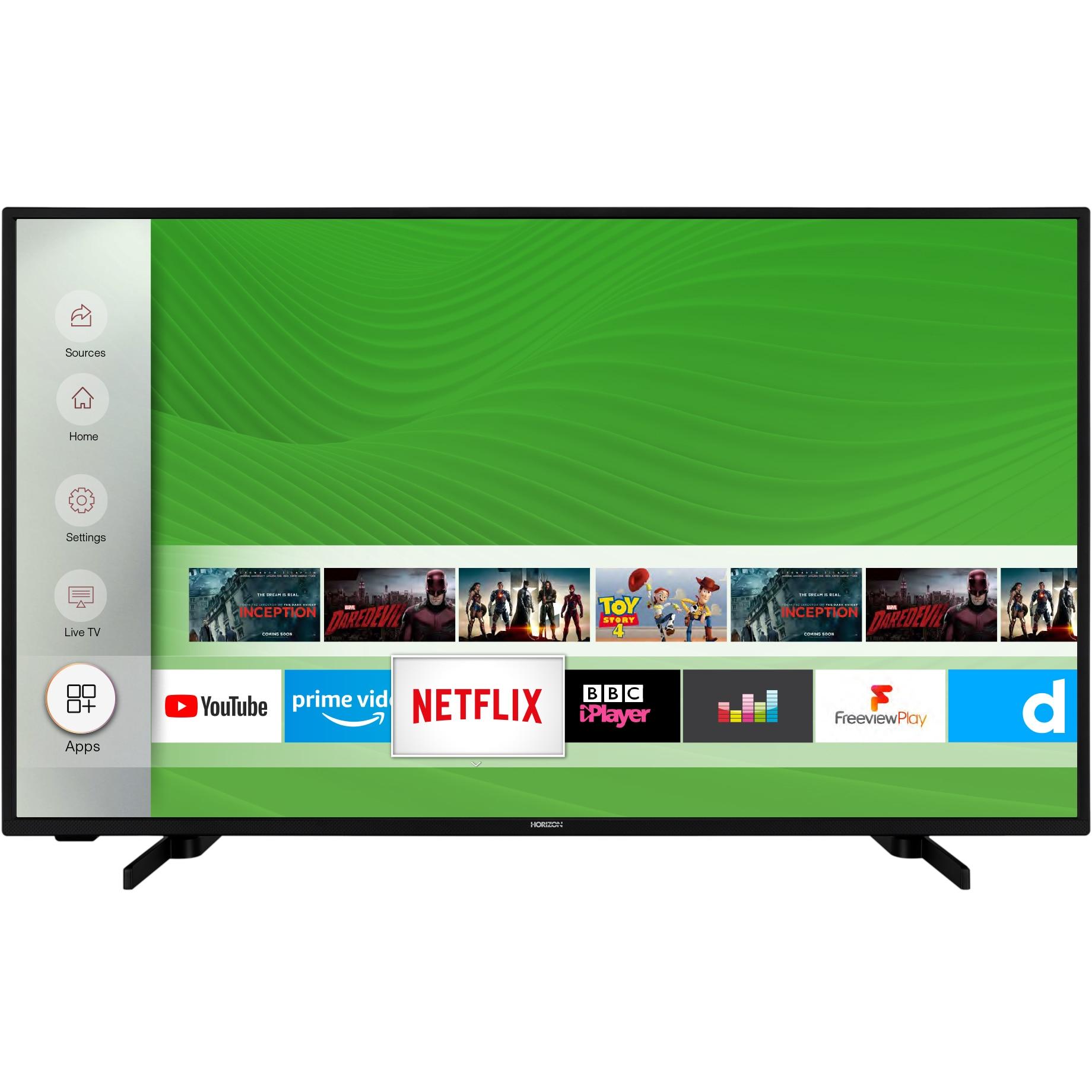 Fotografie Televizor Horizon 43HL7530U, 108 cm, Smart, 4K Ultra HD, LED, Clasa A+