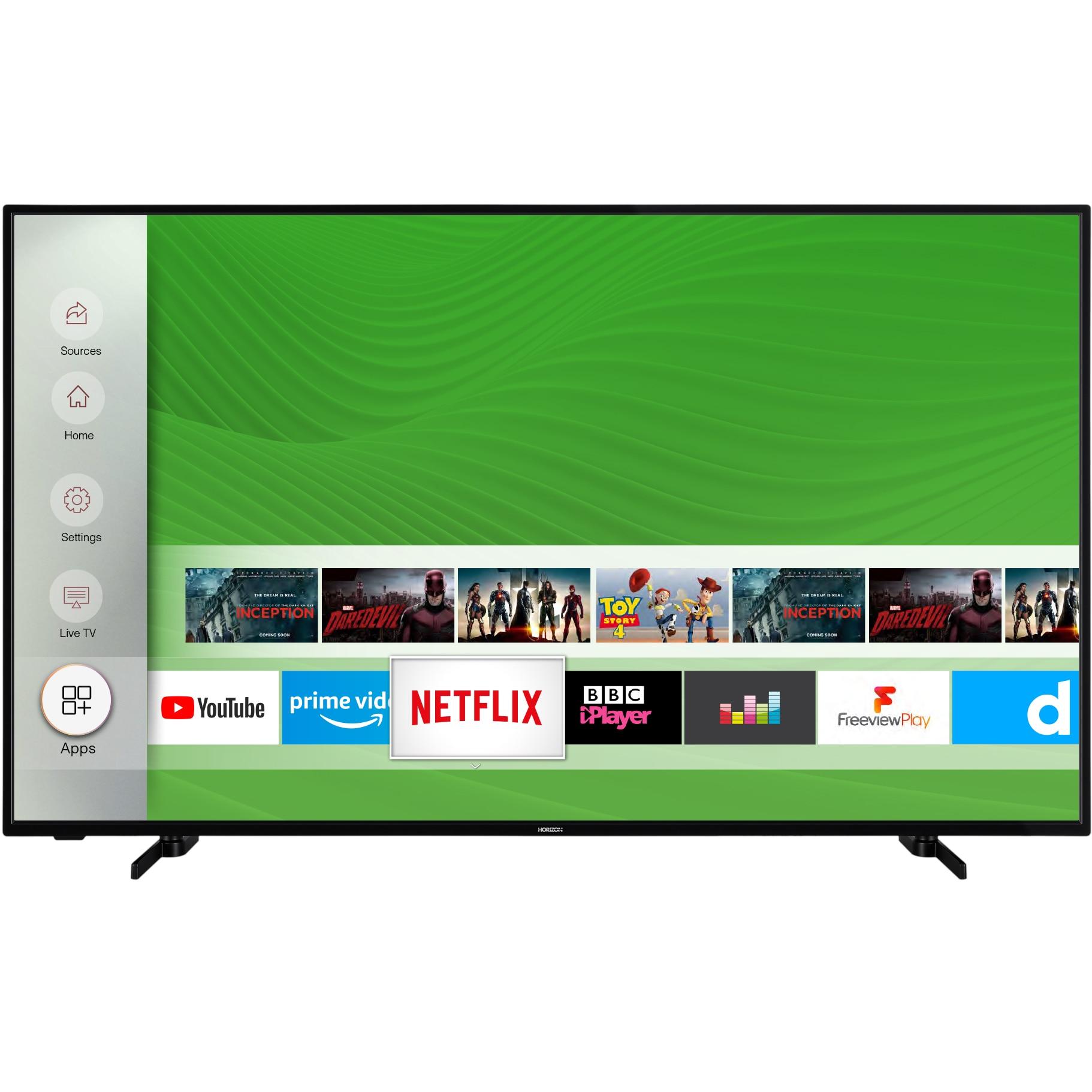 Fotografie Televizor Horizon 58HL7530U, 146 cm, Smart, 4K Ultra HD, LED, Clasa E