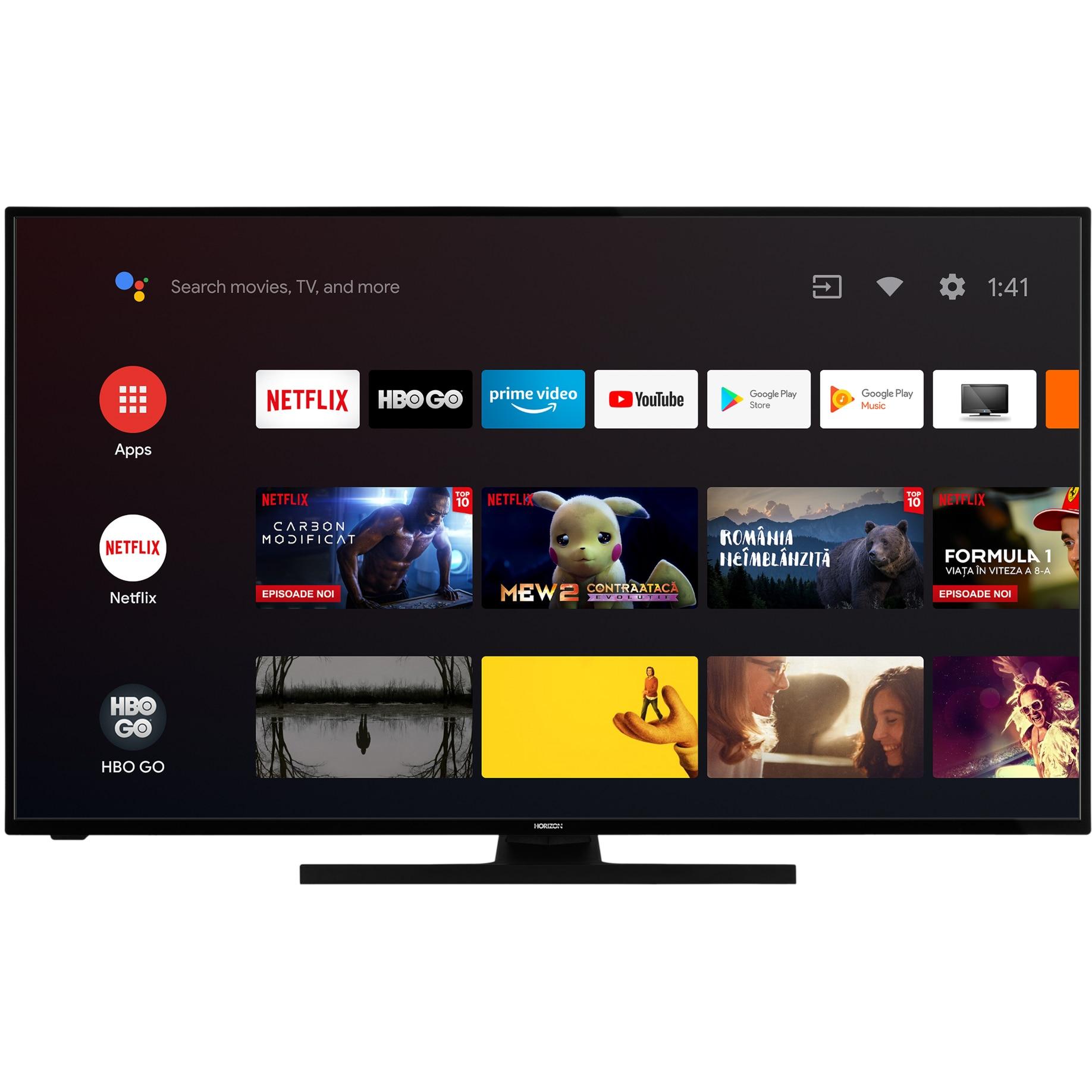 Fotografie Televizor Horizon 43HL7590U, 108 cm, Smart Android, 4K Ultra HD, LED, Clasa G