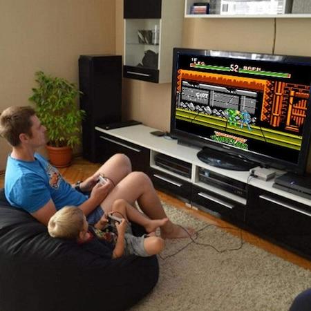 Consola Gaming cu 620 de jocuri, multiplayer, retro, cu cele mai indragite jocuri