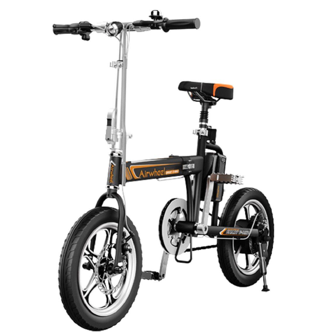 Fotografie Bicicleta electrica pliabila Airwheel R5 Black , Viteza max. 20 km/h , Autonomia maxima: 15-25 km