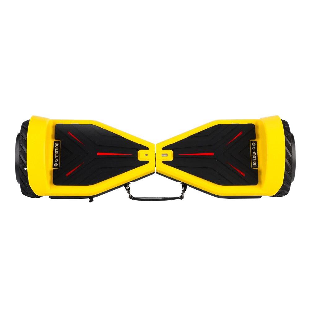 Fotografie Hoverboard AirMotion H1 Yellow 6,5 inch, Viteza max. 10 km/ora, Autonomie 12-18 km, Putere motor 2 x 200W, Samsung Li-Ion 23V, 4.3AH