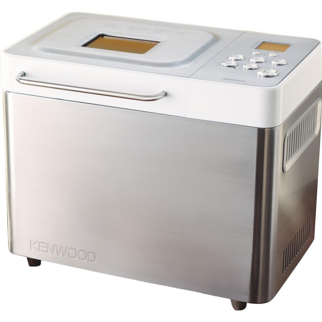 Fotografie Masina de paine KENWOOD BM350, 645 W, 1000 g, 14 programe, argintiu