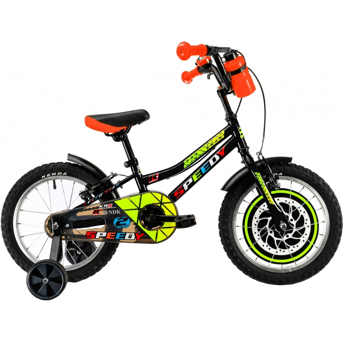 "Fotografie Bicicleta 16"" DHS 1603 pentru copii, Negru"