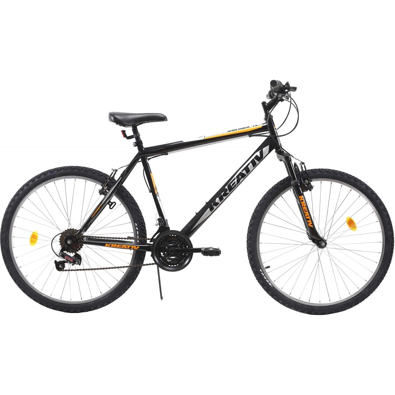 "Fotografie Bicicleta MTB 26"" Kreativ 2603 Negru, L"