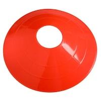LiveUp Tárcsás kúp készlet, 4 db, 18.5x6cm, narancssárga