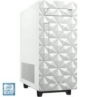 Настолен компютър ASUS S340MF, Intel® Core™ i3-9100F, RAM 8GB, SSD 256GB, NVIDIA® GeForce® GT1030 2GB, Free DOS, White, Мишка+Клавиатура
