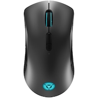 Mouse gaming wireless Lenovo Legion M600, iluminare RGB, 16k DPI, conectare Bluetooth, 2.4GHz sau wired, ambidextru, USB-C, Iron Grey