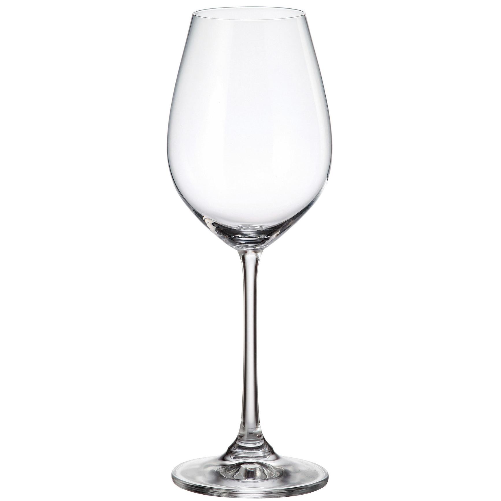 Fotografie Set 6 pahare vin Bohemia Columba, cristalin, 400 ml