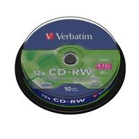 Verbatim újraírható, SERL, 700MB, 8-10x, hengeren, CD-RW lemez
