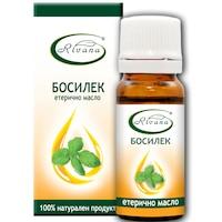 Етерично масло от Босилек Ривана, 100% чисто масло, 10 мл.