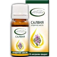 Етерично масло от Салвия Ривана, 100% чисто масло, 10 мл.