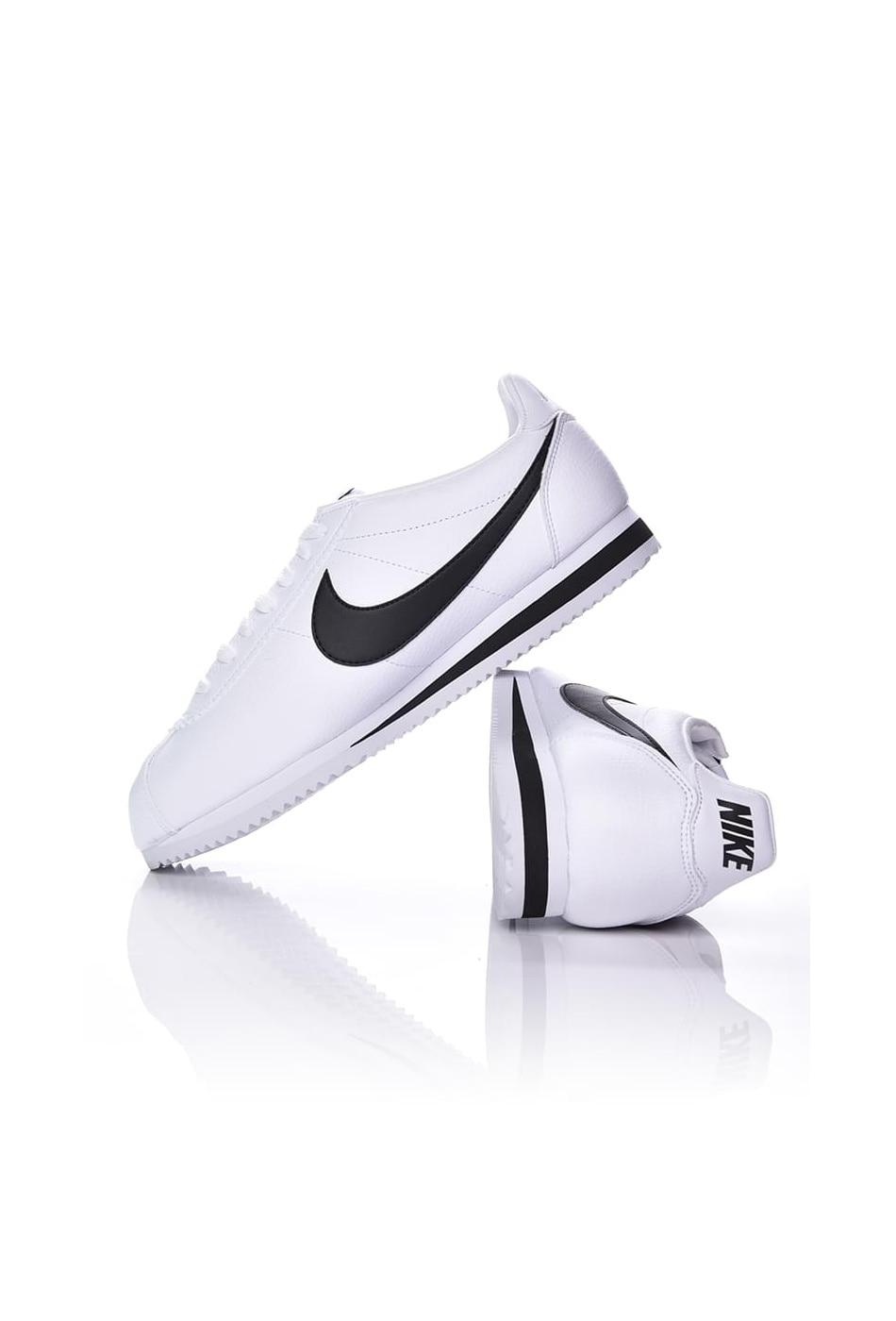 Férfi Nike utcai cipö Classic Cortez Leather Shoe fehér 48,5
