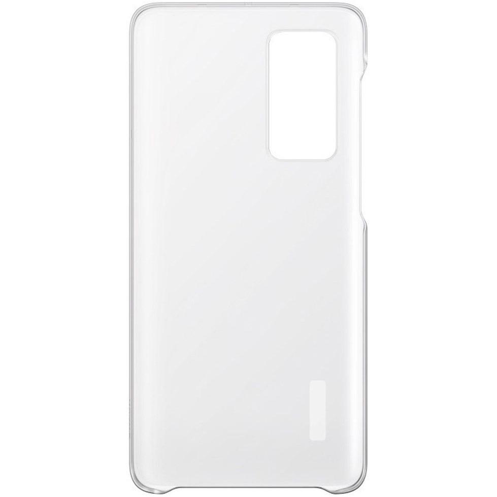 Fotografie Husa de protectie Huawei Clear pentru P40, Transparent